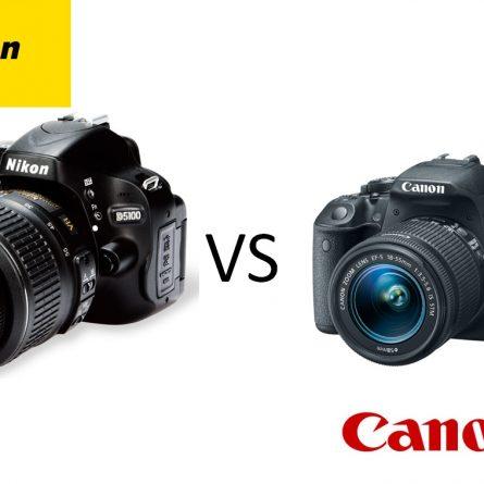 Canon ou nikon