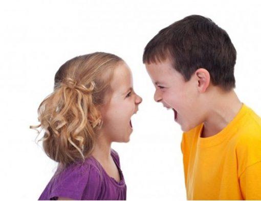 Briga de crianças